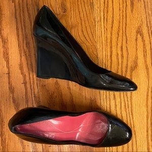 Kate Spade Wedge Heels, Black